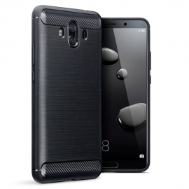 Terrapin Θήκη Σιλικόνης Carbon Fibre Design Huawei Mate 10 - Black (118-083-139)