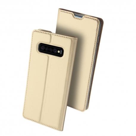 Dux Ducis Skin Pro Bookcase Samsung Galaxy S10 Plus - Gold