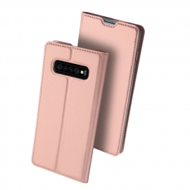 Dux Ducis Skin Pro Bookcase Samsung Galaxy S10 Plus - Rose Gold