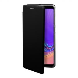 OKKES Book Case Osaka Samsung Galaxy A9 2018 - Black