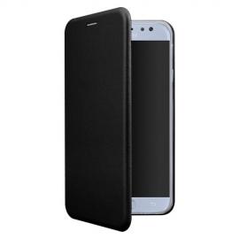 OKKES Book Case Osaka Samsung Galaxy J6 Plus 2018 - Black