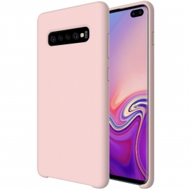OEM Soft Silicone Case Samsung Galaxy S10 Plus - Pink