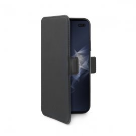 Celly Case Prestige Magnet Version Samsung Galaxy S10 Plus - Black