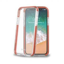 Celly Hexagon 2 Case Apple iPhone X/XS - Orange (HEXAGON900OR)