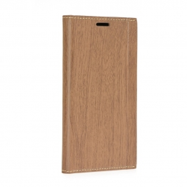 OEM Forcell WOOD Book Samsung Galaxy A3 2017 - brown