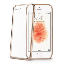 Celly Cover Case Laser iPhone 7/8 - Gold (LASER800GD)