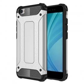 OEM Hybrid Armor Case Tough Rugged Xiaomi Redmi Note 5A - Silver