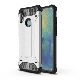 OEM Hybrid Armor Case Tough Rugged Huawei P Smart 2019 - Silver