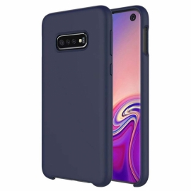 OEM Soft Silicone Case Samsung Galaxy S10E - Dark Blue