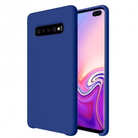 OEM Soft Silicone Case Samsung Galaxy S10 Plus - Dark Blue