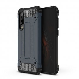 OEM Hybrid Armor Case Tough Rugged Cover Huawei P30 - Blue