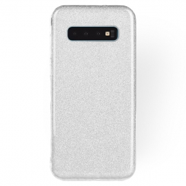 OEM Forcell Shining Case Samsung Galaxy S10 - Silver