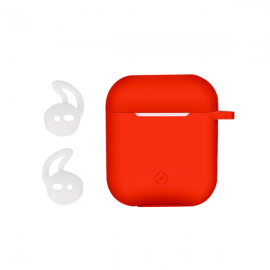 Celly Airpod Case Sport Buds - Red (AIRCASERD)