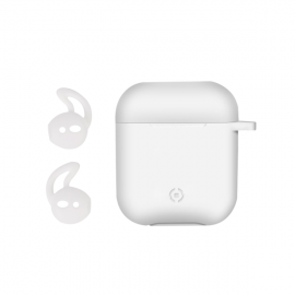 Celly Airpod Case Sport Buds - White (AIRCASEWH)