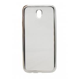 OEM Θήκη Metal TPU για Samsung J7 2017 - Silver