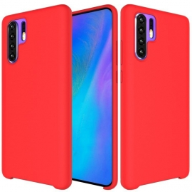 OEM Silicone Case Soft Flexible Rubber Huawei P30 Pro - Red