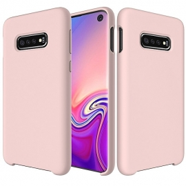 OEM Silicone Case Soft Flexible Rubber Samsung Galaxy S10 - Pink