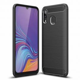 OEM Carbon Case Cover Flexible Samsung Galaxy A30 - Black