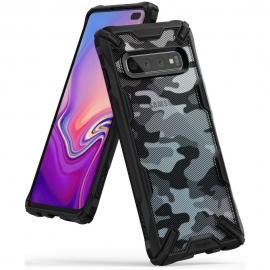Ringke Fusion-X Design Samsung Galaxy S10 - Camo Black