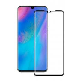 OEM Tempered Glass 2,5D , 9H(0.3 MM) Full Cover Huawei P30 - Black