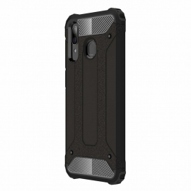 OEM Hybrid Armor Case Tough Rugged Cover Samsung Galaxy A30 - Black
