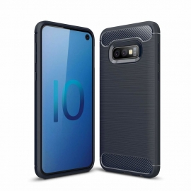 OEM Carbon Case Cover Flexible Samsung Galaxy S10e - Blue