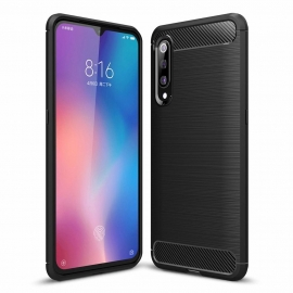 OEM Carbon Case Flexible Cover TPU Case Xiaomi Mi 9 - Black