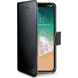 Celly Wally Case iPhone X (WALLY900) - BLACK