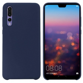 OEM Silicone Case Soft Flexible Rubber Cover Huawei P20 - Blue