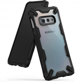 Ringke Fusion X Design Samsung Galaxy S10e - Hexagon Black