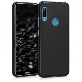 KW TPU Silicone Case Huawei Y6 / Y6 Prime 2019 - Black Matte (48122.47)