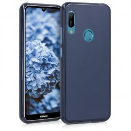 KW TPU Silicone Case Huawei Y6 / Y6 Prime 2019 - Dark Blue Matte (48122.53)