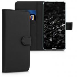 KW PU Leather Wallet Case Huawei Y6 2019 - Black (48125.01)