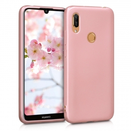 KW TPU Silicone Case Huawei Y6 / Y6 Prime 2019 - Metallic Rose Gold (48123.31)