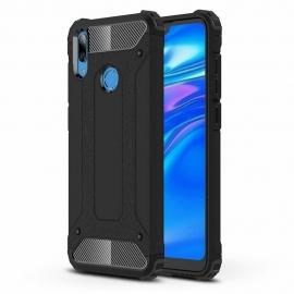 OEM Hybrid Armor Case Tough Rugged Huawei Y6 / Y6 Prime 2019 - Black