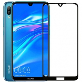 OEM Tempered Glass 5D Full Glue Huawei Y6/Prime/Pro 2019 - Black