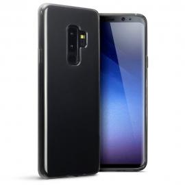 Terrapin Hμιδιάφανη Θήκη Σιλικόνης Samsung Galaxy S9 Plus - Smoke Black (118-002-677)