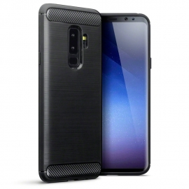Terrapin Θήκη Σιλικόνης Carbon Fibre Design Samsung Galaxy S9 Plus - Black (118-002-684)