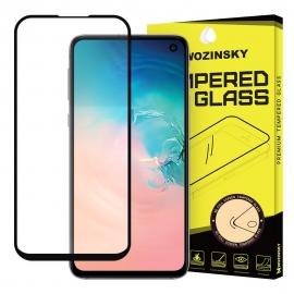 Wozinsky Tempered Glass 9H Full Glue Case Friendly Samsung Galaxy S10e - Black