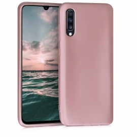 KW TPU Silicone Case Samsung Galaxy A70 - Metallic Rose Gold (48056.31)