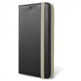"Moleskine Universal Book Case 5.2""-5.7"" -Black/White (MOBKXLBIBE)"