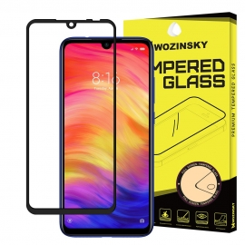 Wozinsky Tempered Glass 9H Full Glue Case Friendly Xiaomi Redmi 7 - Black