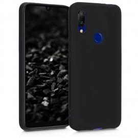 OEM Soft Back Case Gel Cover TPU Xiaomi Redmi 7 - Black