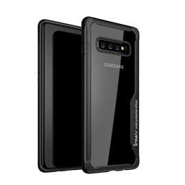 iPaky Survival Case Gel Anti-Fall Cover Samsung Galaxy S10 - Black
