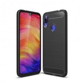 OEM Carbon Case Flexible Cover Case Xiaomi Redmi 7 - Black