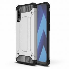 OEM Hybrid Armor Case Tough Rugged Samsung Galaxy A70 - Silver