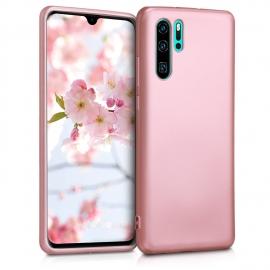 KW TPU Silicone Case Huawei P30 Pro - Metallic Rose Gold (47420.31)