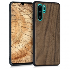 KW Wooden Case Huawei P30 Pro - Walnut Dark Brown (47424.18)