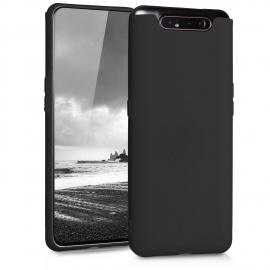 KW TPU Silicone Case Samsung Galaxy A80 - Black Matte (48438.47)
