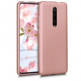 KW TPU Silicone Case Xiaomi Mi 9T - Metallic Rose Gold (49227.31)